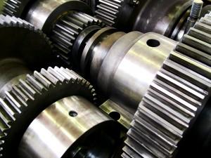 Ein Getriebe aus dem Praktikum Maschinenbau